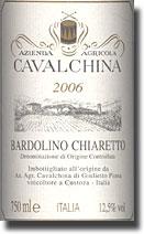 2006 Cavalchina Bardolino Chiaretto