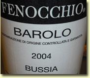 Fenocchio Bussia Barolo