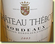 CHATEAU THEBOT 2005