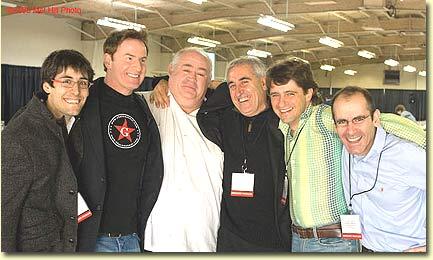 Jurgen Wagner, Eric Solomon, Philippe Cambie, Adolfo Munoz,Javier Munoz, Daniel Castano